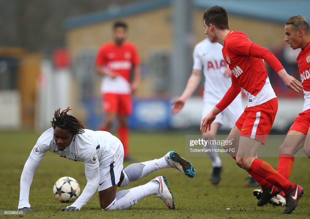 Tottenham Hotspur U19 v Monaco U19: UEFA Youth League : News Photo