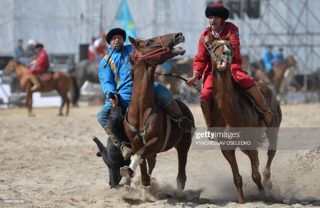 KYRGYZSTAN-NOMAD-GAMES : News Photo