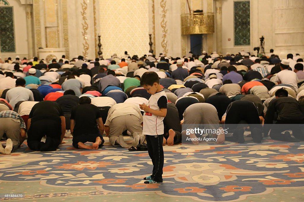 Ramadan in Kazakhstan : News Photo
