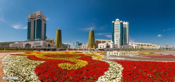 Kazakhstan, Astana City, New Administrative City, Nurzhol Avenue, Parlament