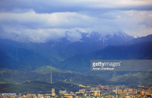 Kazakhstan, View on Almaty city