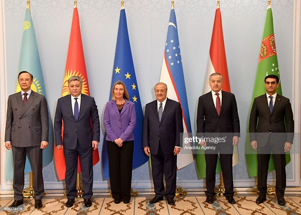 EU-Central Asia Foreign Ministers' Meeting : News Photo