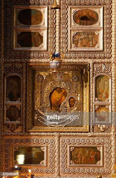 Kazan cathedral The Icon of Our Lady of Kazan