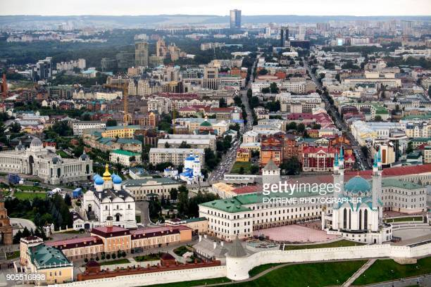 Kazan from the air