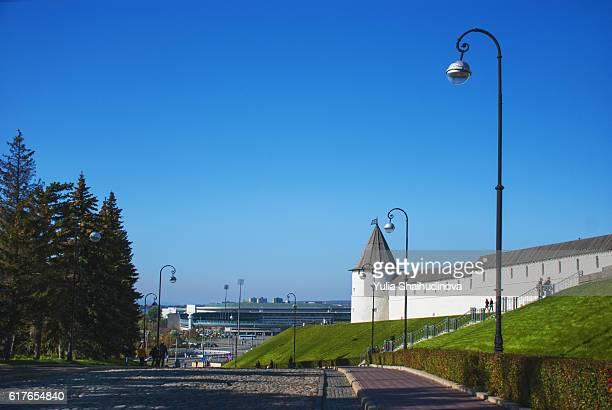 kazan kremlin side - カザン市 ストックフォトと画像