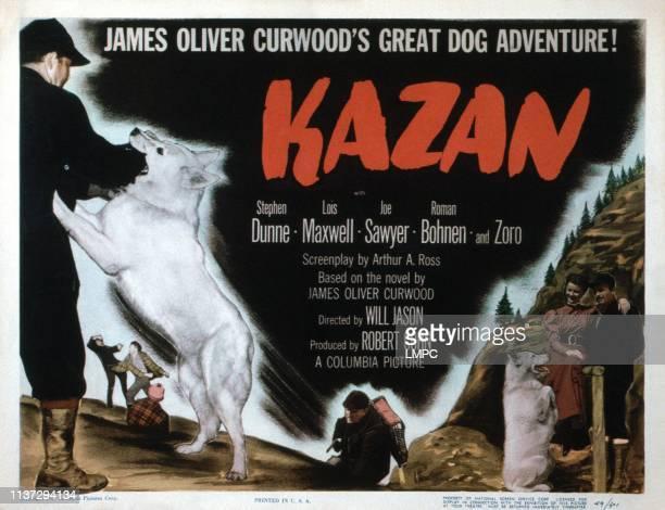 Kazan, lobbycard, bottom center: Joe Sawyer; bottom right: Lois Maxwell, Stephen Dunne, 1949.