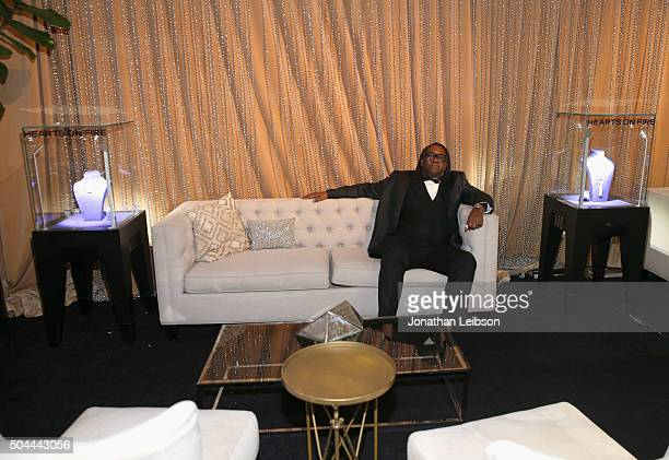 Kazembe Ajamu Coleman attends The Weinstein Company and Netflix Golden Globe Party presented with DeLeon Tequila Laura Mercier Lindt Chocolate Marie...