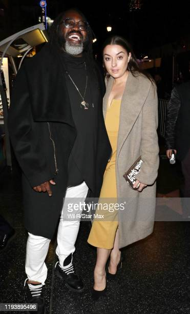 Kazembe Ajamu Coleman is seen on January 15 2020 in Los Angeles California