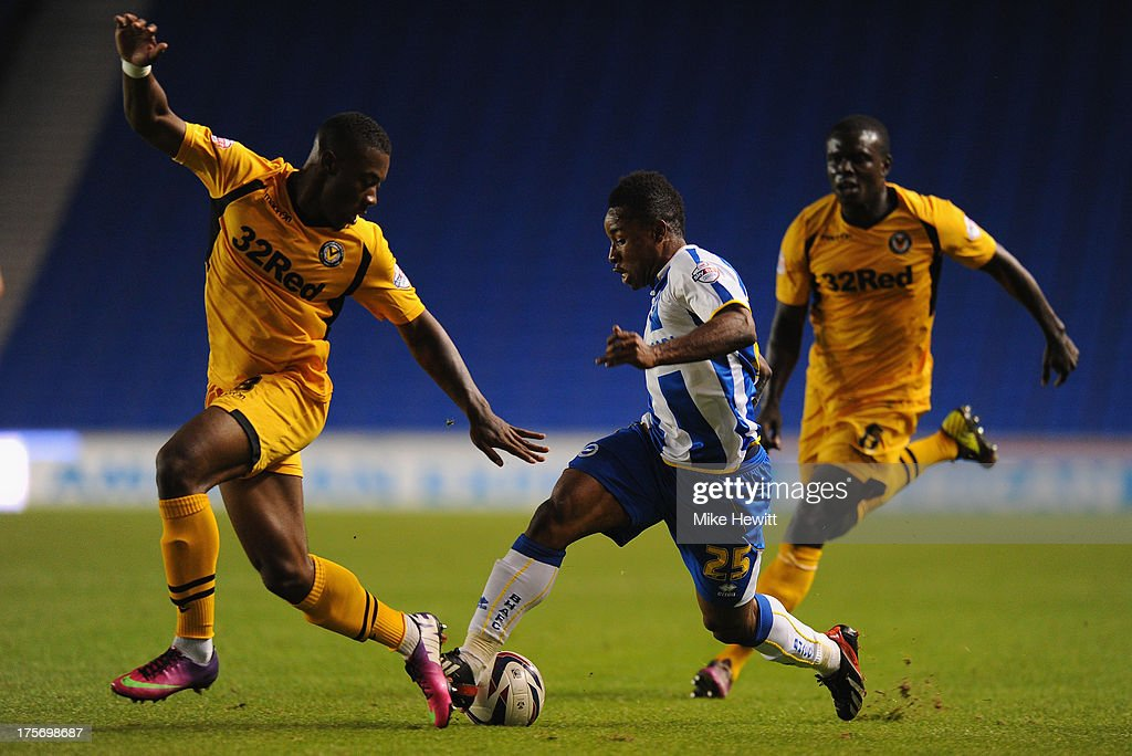 Brighton & Hove Albion v Newport County - Capital One Cup First Round