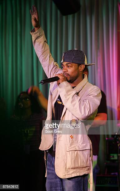 Kazi The Hip Hop Project performs at the Tribeca/ASCAP Music Lounge at the Canal Room May 5 2006 in New York City