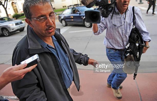 KAZI18Mohammed Zazi the father of Najibullah Zazi waves off reporters as he leaves the FBI's Denver headquarters in downtown Denver Mohammed was...