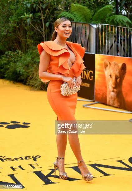 """Kazimir Crossley attends the European Premiere of Disney's """"The Lion King"""" at Odeon Luxe Leicester Square on July 14, 2019 in London, England."""
