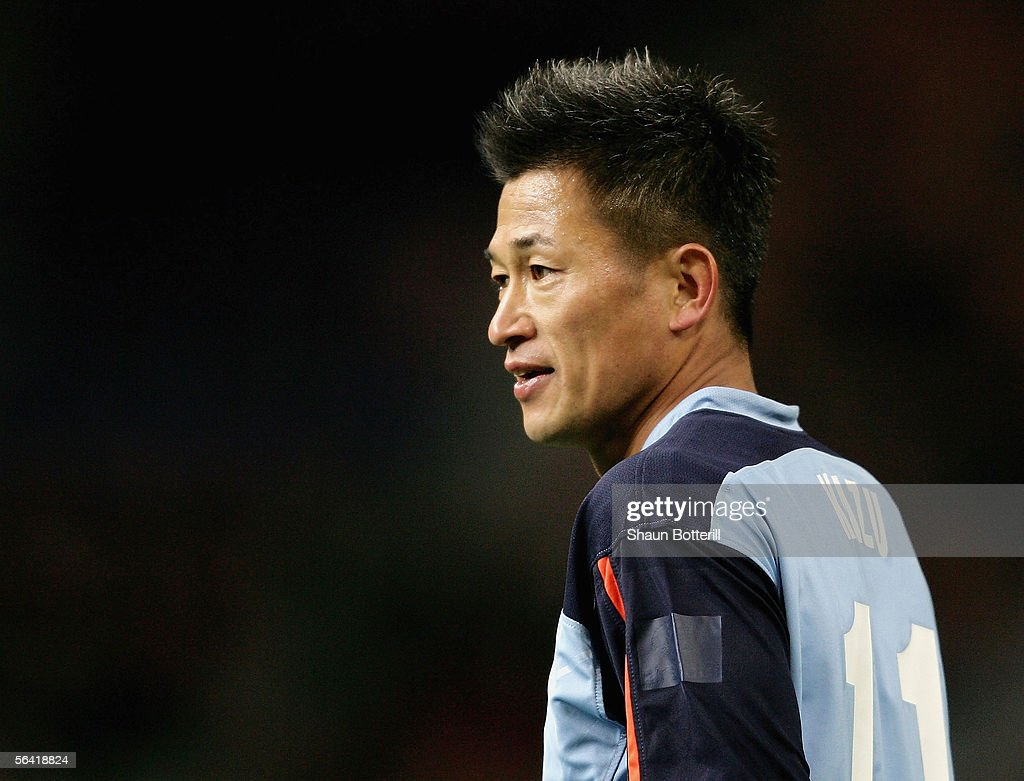 Kazu Miura of Sydney looks on during the FIFA Club World Championship...  News Photo - Getty Images