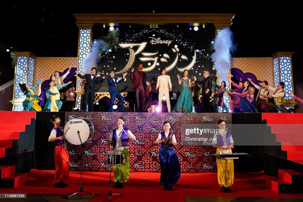 'Aladdin' Japan Premiere - Tokyo Parade : Nachrichtenfoto