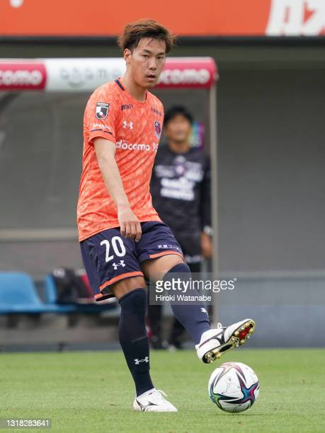 Kazuki Kushibiki of Omiya Ardija in action during the J.League Meiji Yasuda J2 match between Omiya Ardija and Fagiano Okayama at the NACK5 Stadium...