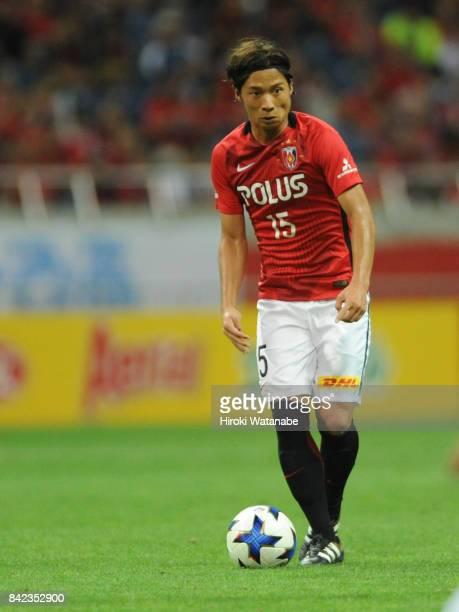 Kazuki Nagasawa of Urawa Red Diamonds in action during the JLeague Levain Cup quarter final second leg match between Urawa Red Diamonds ant Cerezo...