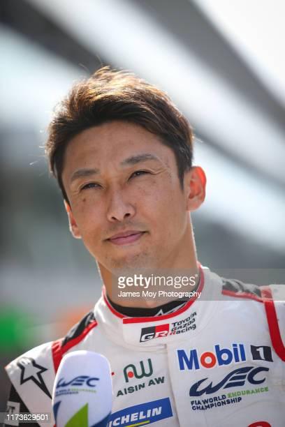 Kazuki Nakajima of Japan and Toyota Gazoo Racing on October 4, 2019 at the World Endurance Chapionship at Fuji, Japan.