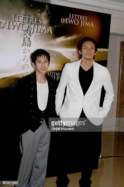 Kazunari Ninomiya and Suyoshi Ihara