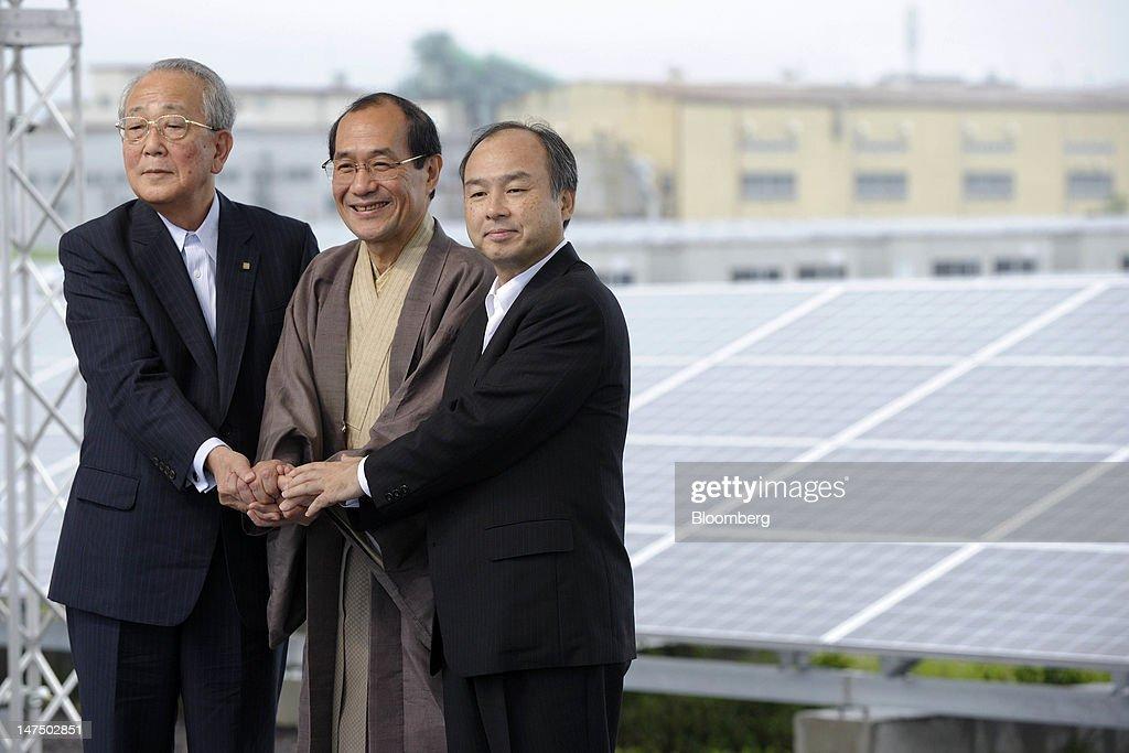 Softbank To Build Japan's Biggest Solar Plant On Incentives : News Photo