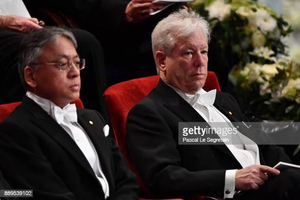 Kazuo Ishiguro laureate of the Nobel Prize in Literature and Richard H Thaler laureate of the Sveriges Riksbank Prize in economic sciences in memory...
