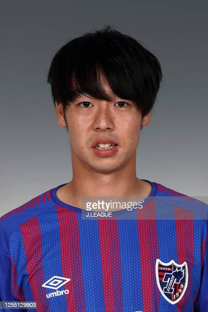 Kazuya Konno poses for photographs during the FC Tokyo portrait session on January 8, 2020 in Japan.