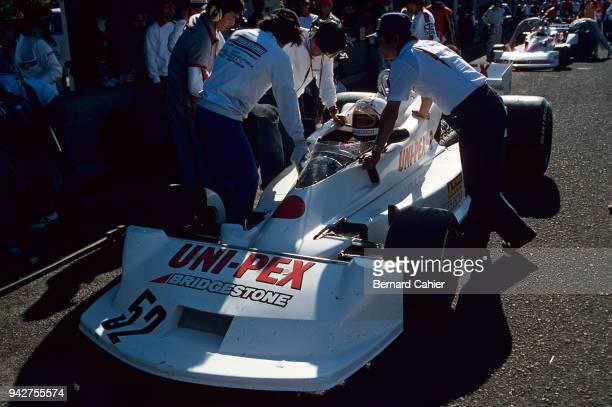 Kazuyoshi Hoshino KojimaFord KE009 Grand Prix of Japan Fuji Speedway 23 October 1977