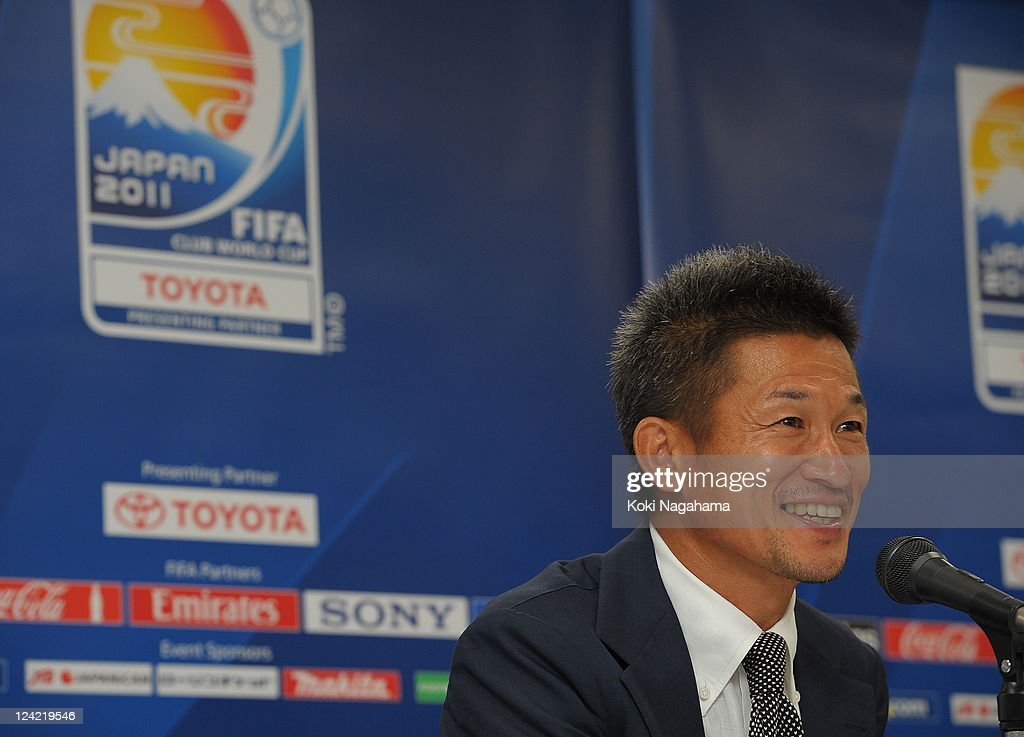 Kazuyoshi Miura Appointed As FIFA Club World Cup Ambassador