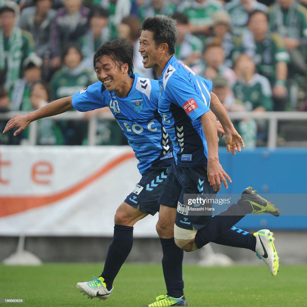 Yokohama FC v Matsumoto Yamaga FC - 2013 J.League 2