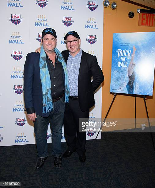 KChristo Brock and Grant A Barbeito attend Touch The Wall New York Screening at Sunshine Landmark on November 23 2014 in New York City