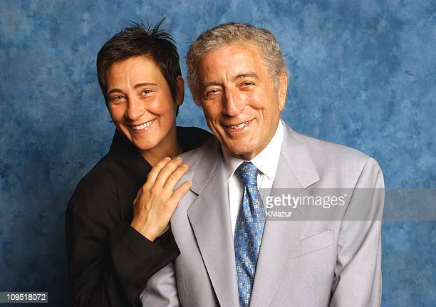 kd lang and Tony Bennett during Tony Bennett and kd lang are touring together on a 23city tour at NBC Today Show in New York City New York United...