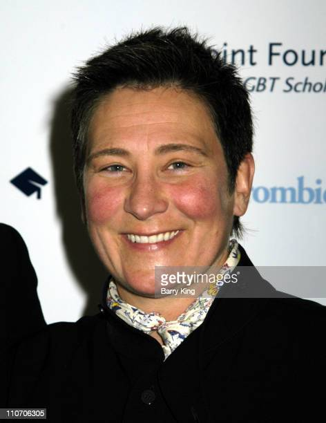 kd lang during 1st Annual LGBT Stars of Tomorrow Benefit Red Carpet Inside at Director's Guild of America in Los Angeles CA United States