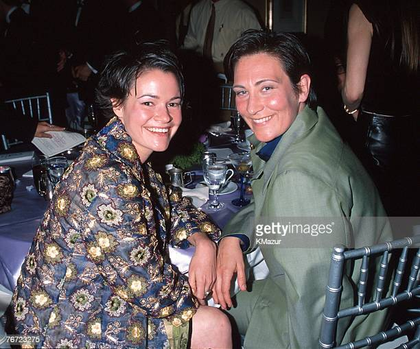 K.d. Lang & girlfriend