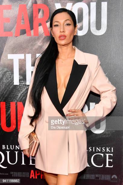 Kea Ho attends the 'A Quiet Place' New York Premiere at AMC Lincoln Square Theater on April 2 2018 in New York City