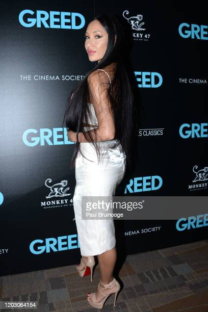 "Kea Ho attends The Cinema Society & Monkey 47 Host A Special Screening Of Sony Pictures Classics' ""Greed"" at Cinepolis Chelsea on February 24, 2020..."