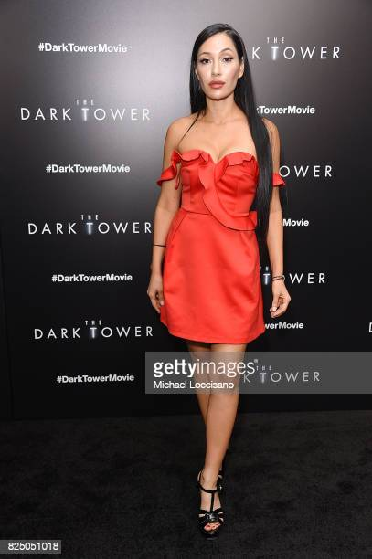 Kea Ho attends 'The Dark Tower' New York Premiere on July 31 2017 in New York City