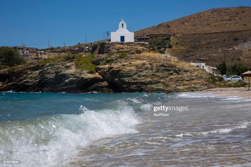 The Kea island (Tzia) in the Aegean Sea : News Photo