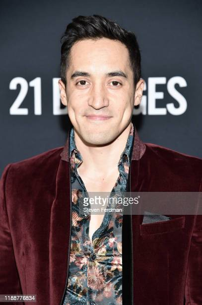 Keahu Kahuanui attends 21 Bridges New York Screening at AMC Lincoln Square Theater on November 19 2019 in New York City