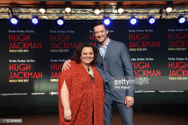 Keala Settle and Hugh Jackman at AUT's South Campus on February 27 2019 in Auckland New Zealand Hugh Jackman has confirmed he is bringing his world...