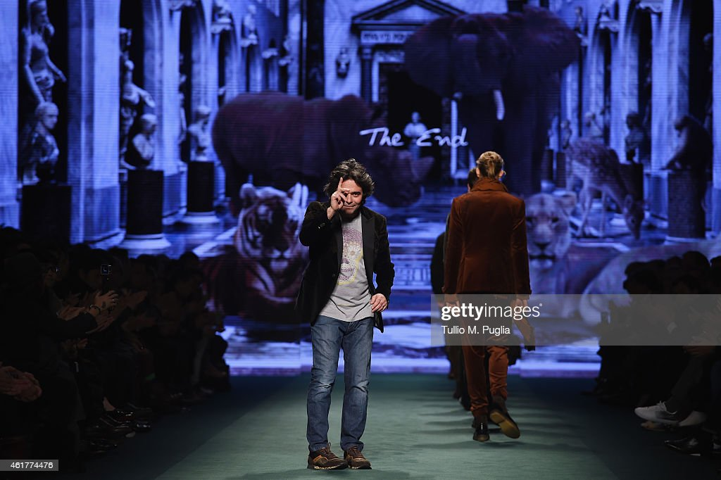 ETRO SHOW - Runway - Milan Menswear Fashion Week Fall Winter 2015/2016