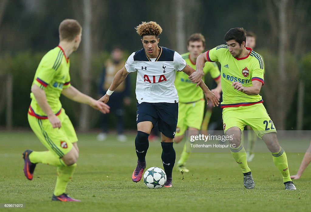 Tottenham Hotspur FC v PFC CSKA Moskva - UEFA Youth Champions League : News Photo