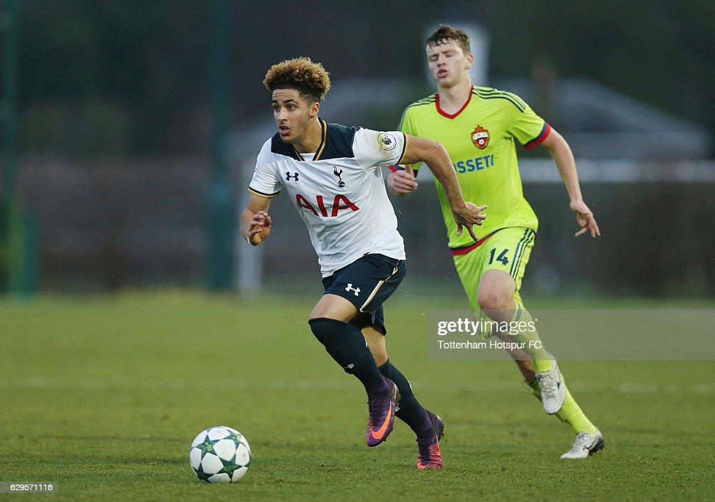Tottenham Hotspur FC v PFC CSKA Moskva - UEFA Youth Champions League : Nachrichtenfoto