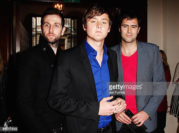 Keane attend the GQ Men of the Year Awards held at the Royal Opera House Covent Garden on September 2 2008 in London England