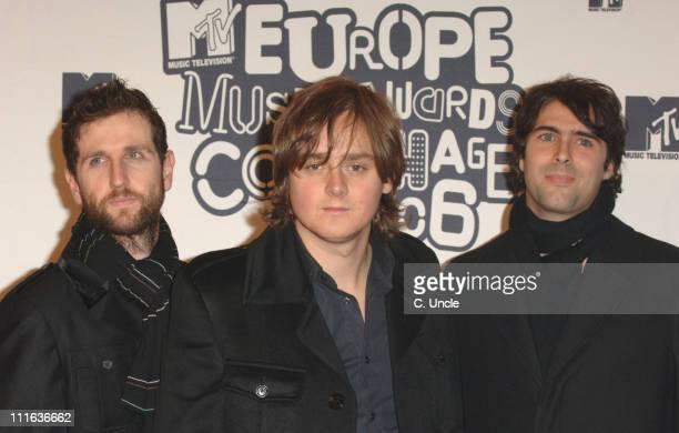 Keane during 2006 MTV European Music Awards Copenhagen Arrivals at Bella Centre in Copenhagen Denmark