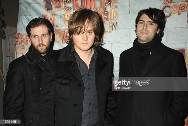 Keane during 2006 MTV European Music Awards Copenhagen Red Carpet Arrivals at Bella Centre in Copenhagen Denmark
