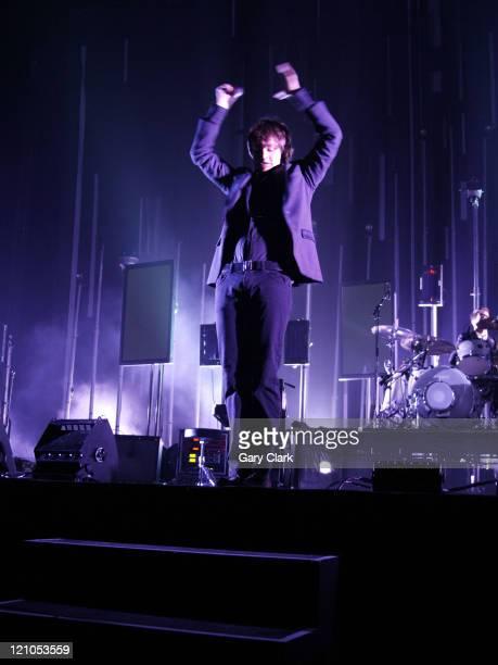 keane during Keane in Concert at Wembley Arena in London February 28 2007 at Wembley Arena in London Great Britain