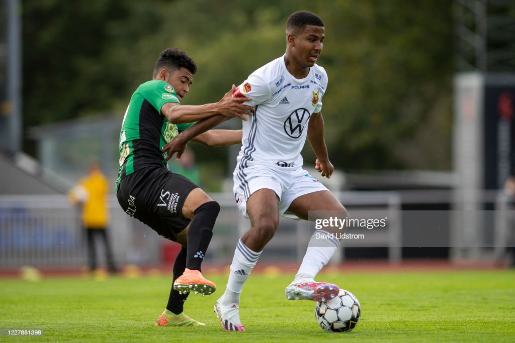 Keanin Ayer Of Varbergs Bois And Nebiyou Perry Of Ostersunds Fk News Photo Getty Images