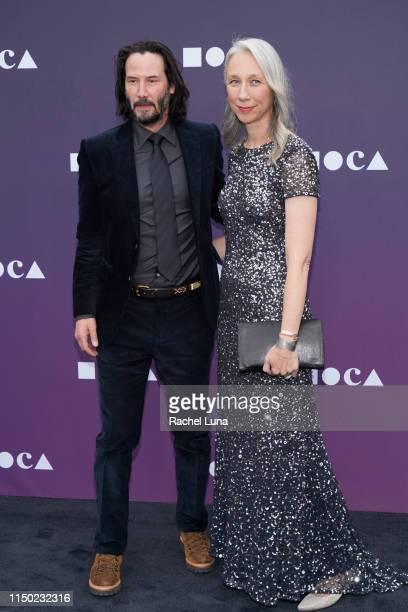 Keanu Reeves and Alexandra Grant attend the MOCA Benefit 2019 at The Geffen Contemporary at MOCA on May 18 2019 in Los Angeles California
