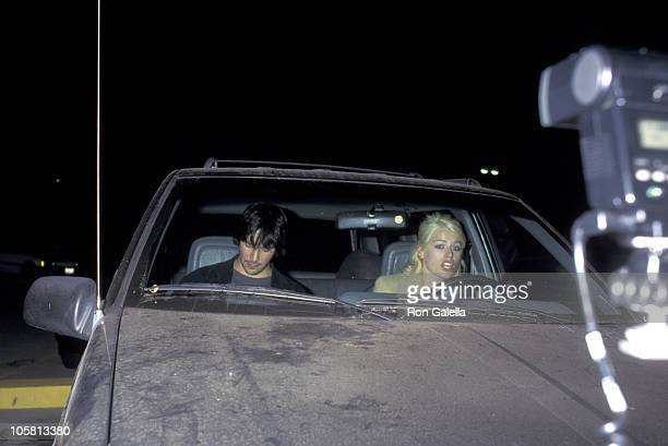 Keanu Reeves and Amanda De Cadenet during 'Four Dogs and a Bone' Premiere at Geffen Theater in Westwood California United States
