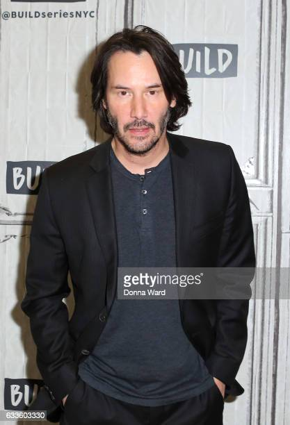 Keanu Reeves appears to promote 'John Wick Chapter 2' during the BUILD Series at Build Studio on February 2 2017 in New York City