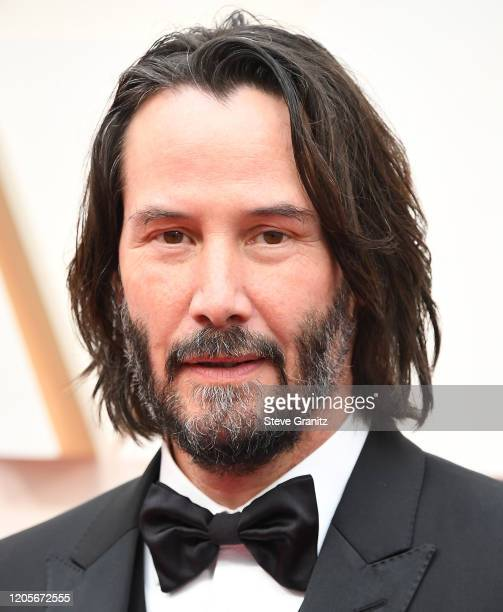 Keanu Reeves arrives at the 92nd Annual Academy Awards at Hollywood and Highland on February 09 2020 in Hollywood California